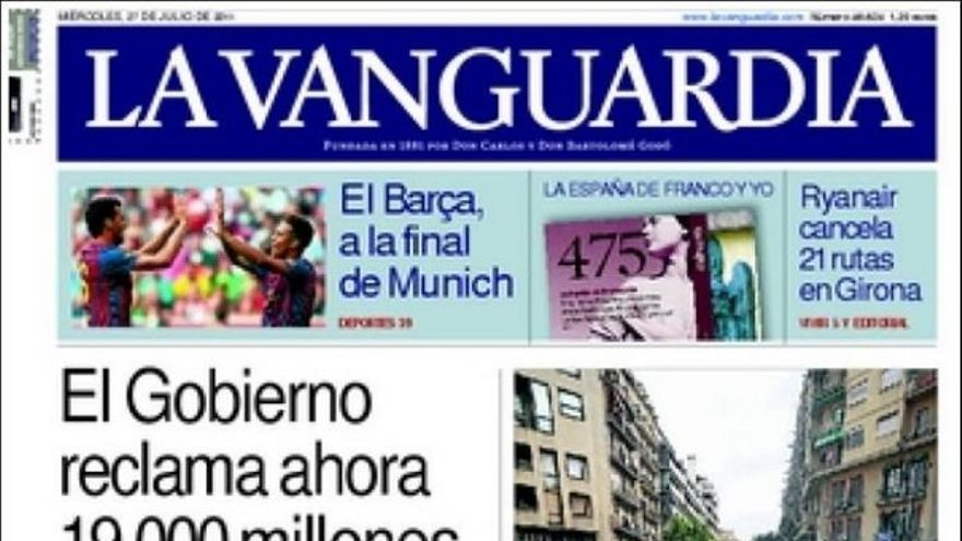 De las portadas del día (27/07/2011) #12