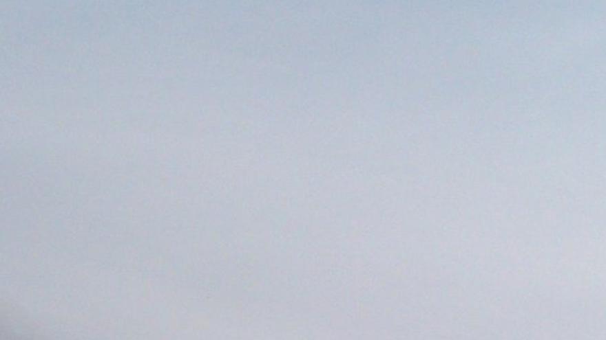 Los hidroaviones, sobre el fuego que azota Bizkaia / Foto: @IBoMc3 -Twitter-