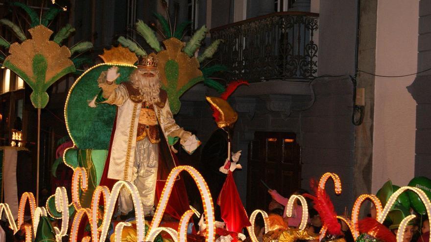 Imagen de archivo de la cabalgata de Reyes Magos de 2013 de Santa Cruz de La Palma.