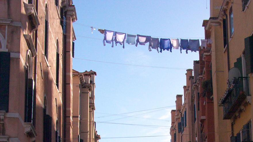 Los 'rascacielos' del Ghetto veneciano. Paul Barker Hemings