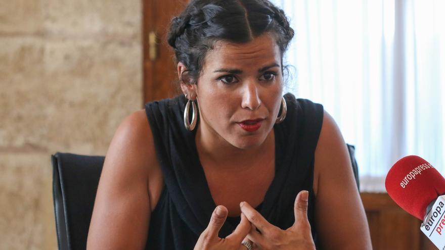 """Teresa Rodríguez asegura que """"luchará hasta el final"""" para que Podemos Andalucía pueda elaborar sus listas electorales"""