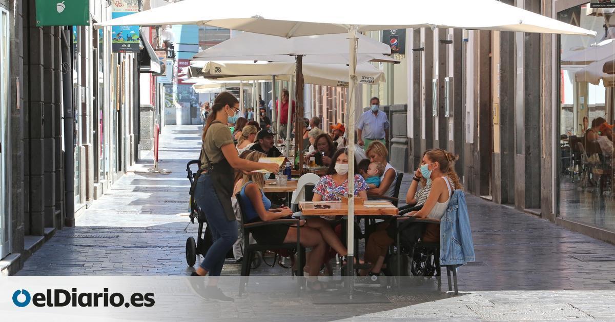 Los trabajadores en ERTE caen hasta el 4,9% en Canarias desde junio