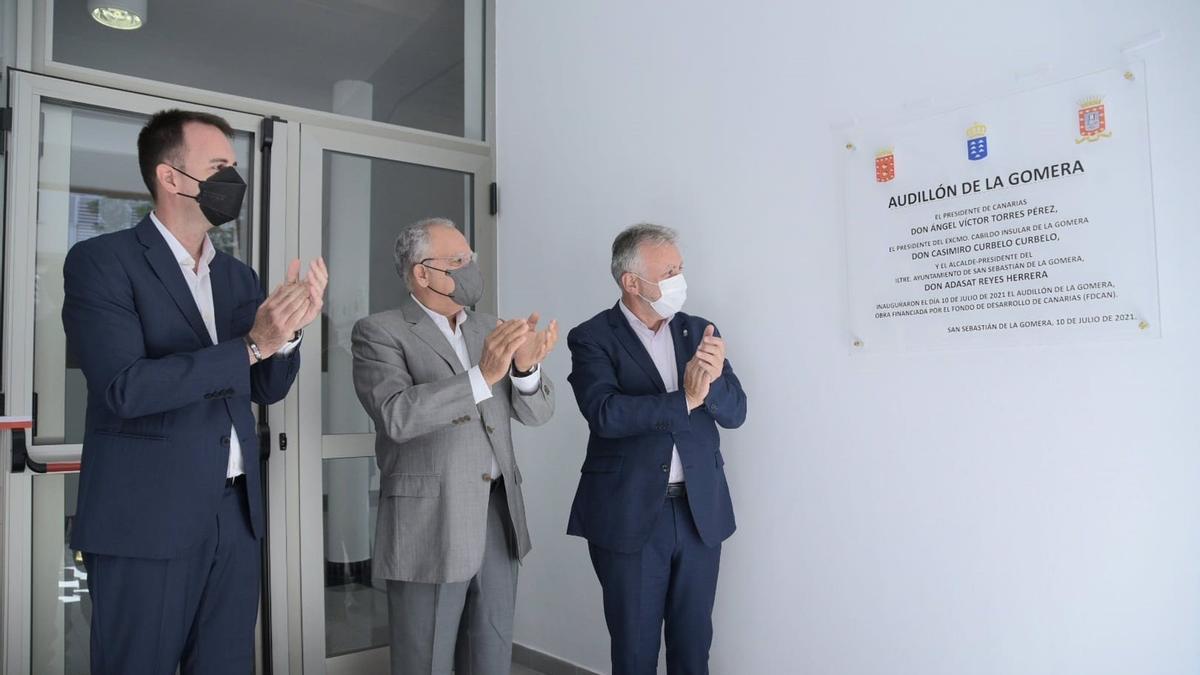 Inauguración del Audillón de La Gomera - CABILDO DE LA GOMERA