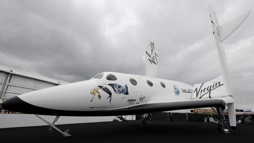 Diez españoles tienen plaza para viajar al espacio con Virgin Galactic
