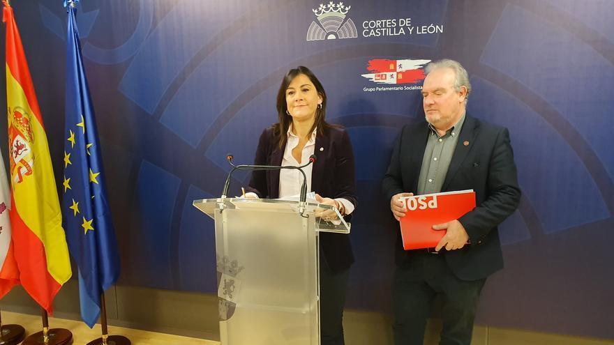 Ana Sánchez comparece acompañda de José Francisco Martín.