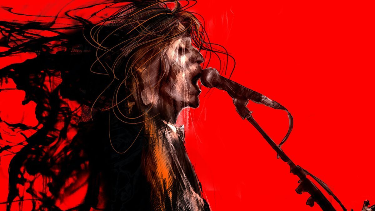 Ilustración del disco 'Mayéutica' de Robe Iniesta
