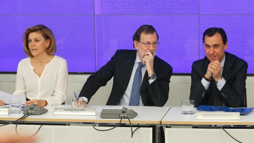 """'Génova' carga contra Puigdemont por """"amenazar de nuevo"""" con un referéndum que sabe que es """"ilegal e inviable"""""""