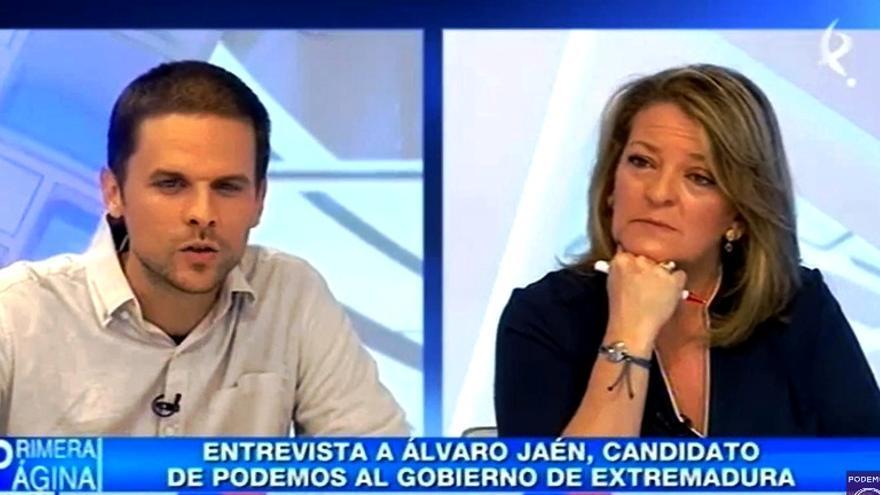 Entrevista a Álvaro Jaén, de Podemos, en Canal Extremadura TV / Youtube