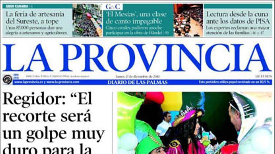 De las portadas del día (13/12/2010) #6