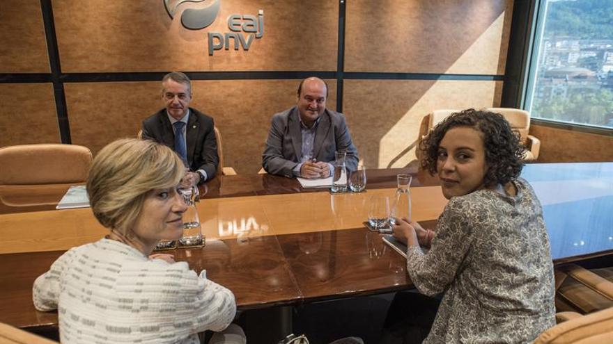 Ezker Anitza-IU se reafirma en un pacto entre Podemos, EH Bildu y PSE-EE