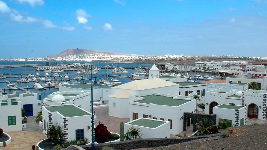 Urbanización turística de Playa Blanca, en la costa sur de Lanzarote.