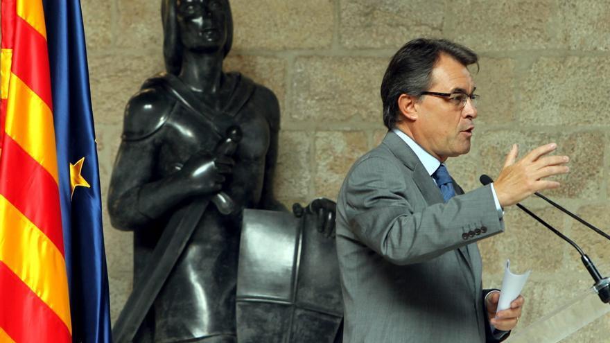 """Artur Mas asume el reto de crear estructuras de Estado y afirma que """"no es fácil pero sí posible"""""""