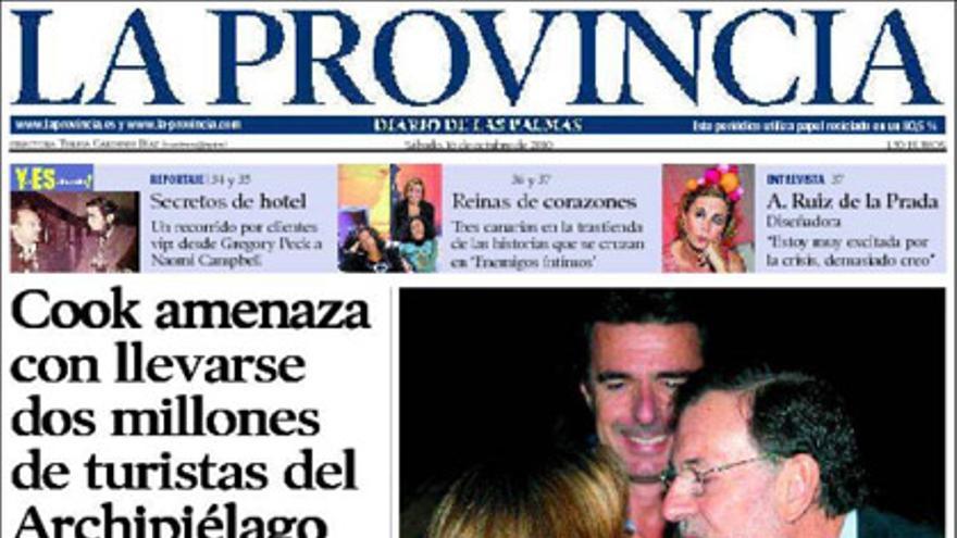 De las portadas del día (16/10/2010) #8