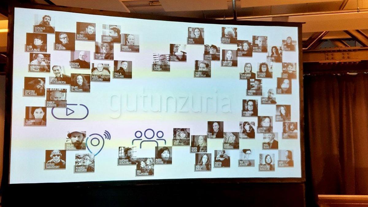 Cartel del festival Gutun Zuria de 2021
