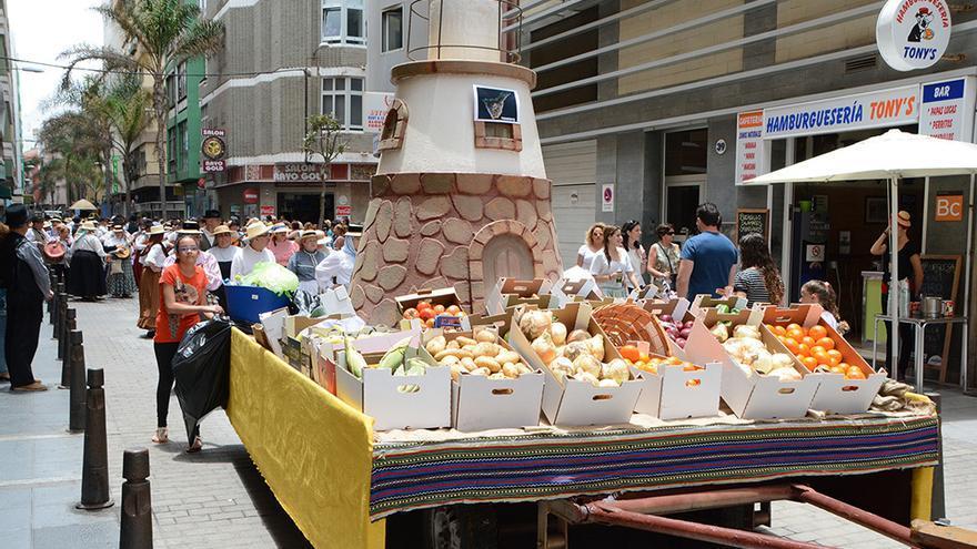 Paseo Romero celebrado en Las Palmas de Gran Canaria.