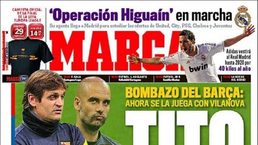 De las portadas del día (28/04/2012) #12