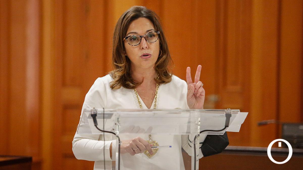 Isabel Ambrosio, portavoz del PSOE en el Ayuntamiento de Córdoba