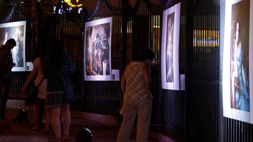 Una plaza de Asunción se convierte en una extensión del Museo del Prado