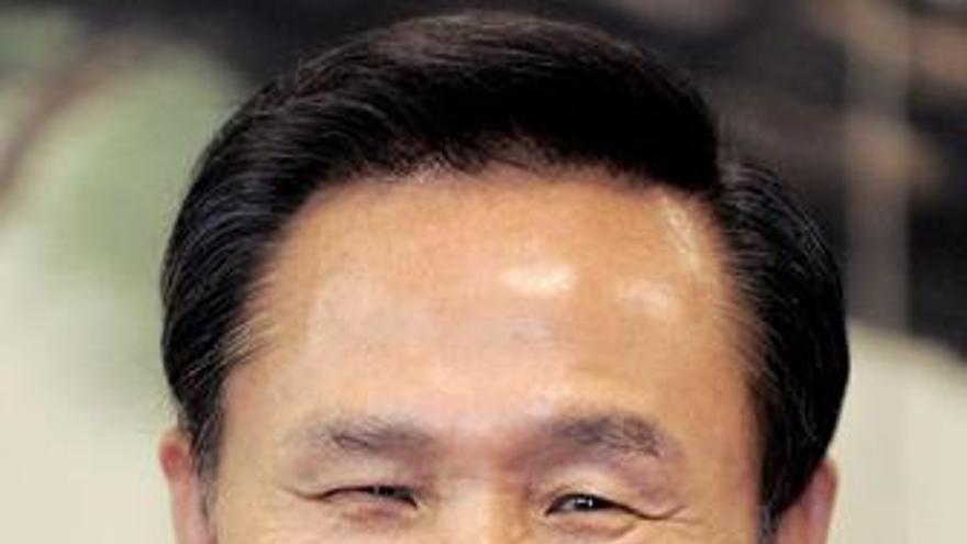 Presidente electo de Corea del Sur Lee Myung Bak