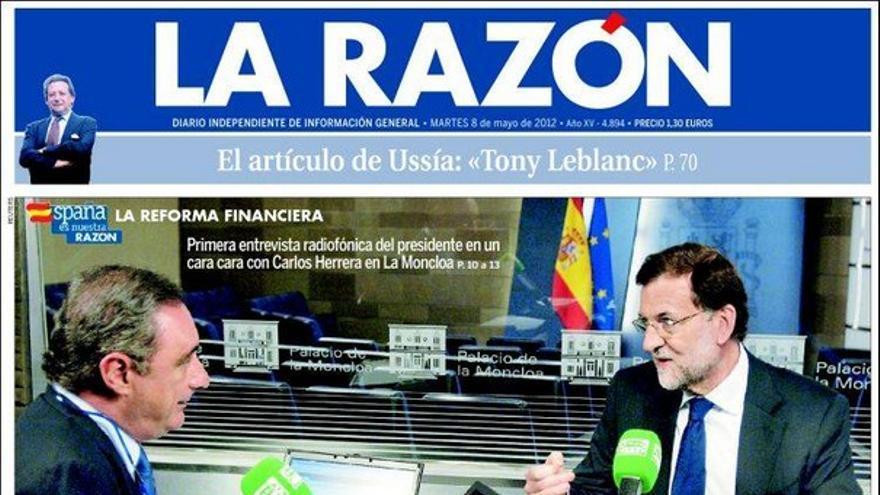 De las portadas del día (08/05/2012) #9