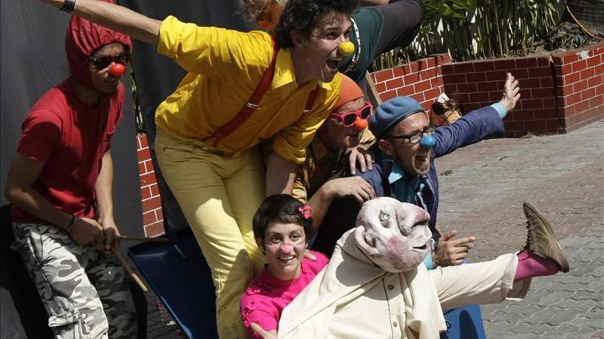 Payasos Sin Fronteras celebra su 20 aniversario en el Teatro Circo Price