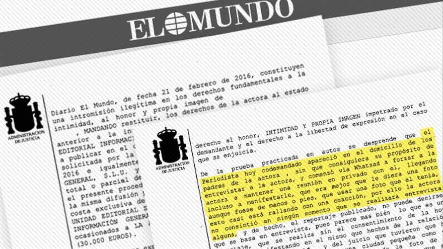 """La sentencia contra Javier Negre concluye que se inventó la entrevista y """"rayó la coacción"""""""
