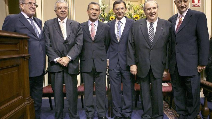 Presidentes del Parlamento canario.