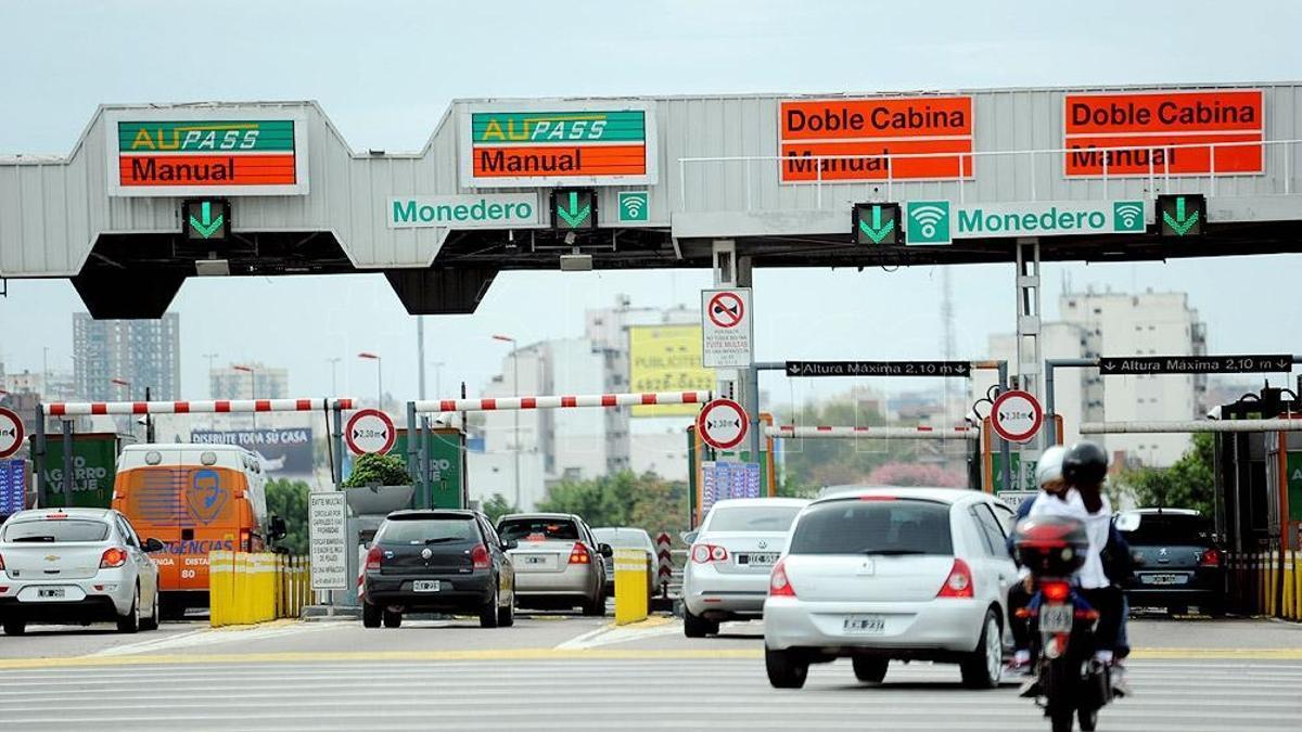 Los peajes en las autopistas de CABA aumentaron un 55%.