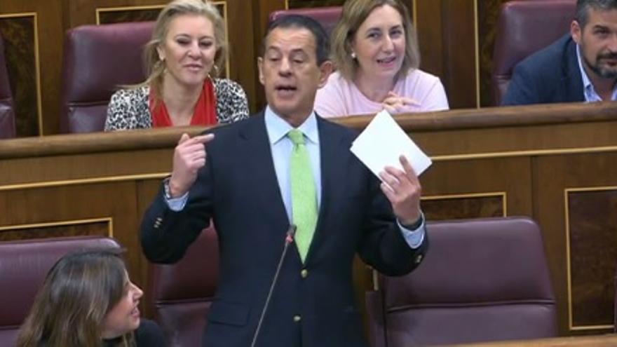 El diputado del PP, Rafael Merino