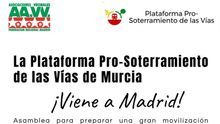 Vecinos de Madrid se organizan para unirse a la manifestación contra el muro del 28 de octubre