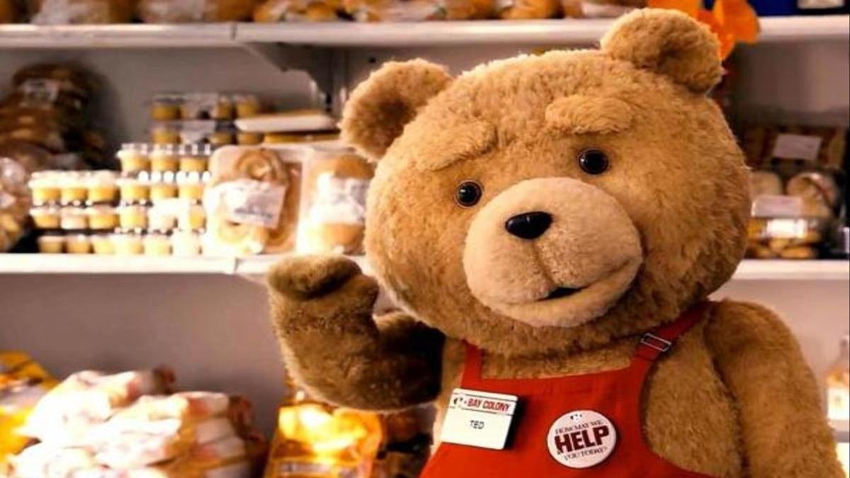 Ted llega a la TV