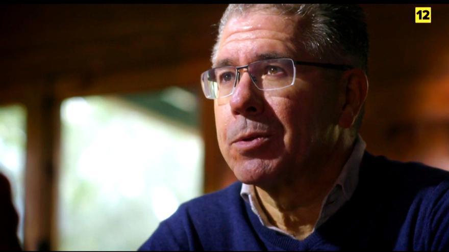 Francisco Granados, durante su entrevista con Jordi Évole