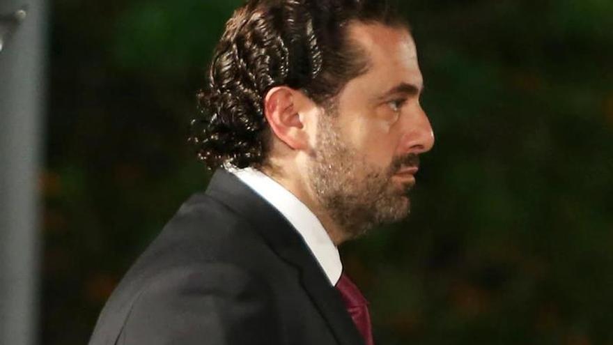 Hariri renuncia al cargo de primer ministro del Líbano