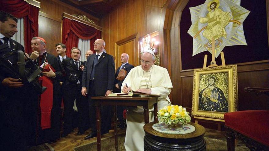 El papa Francisco se reunió con el Gran Rabino de Turquía