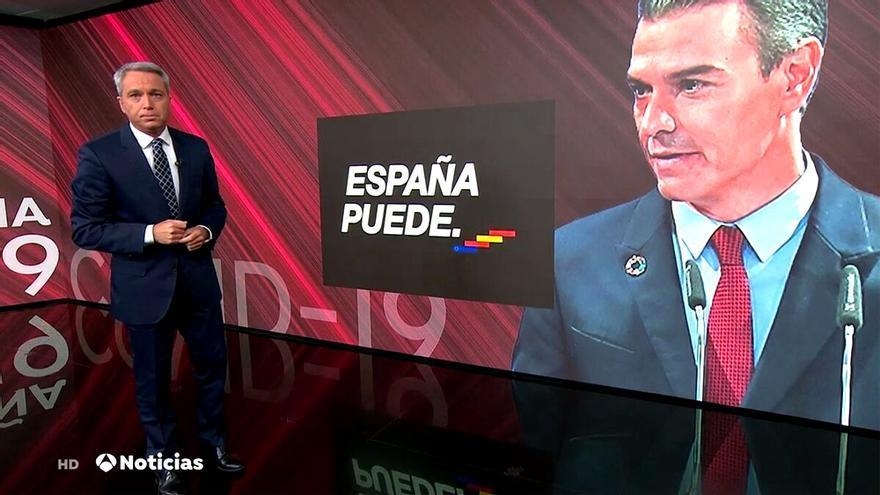 Vicente Vallés, en Antena 3 Noticias 2
