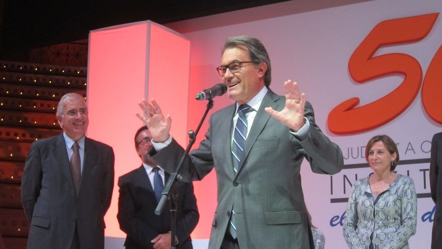 """Mas reitera su condena a la agresión a Rajoy y pide """"rebajar"""" la repercusión"""
