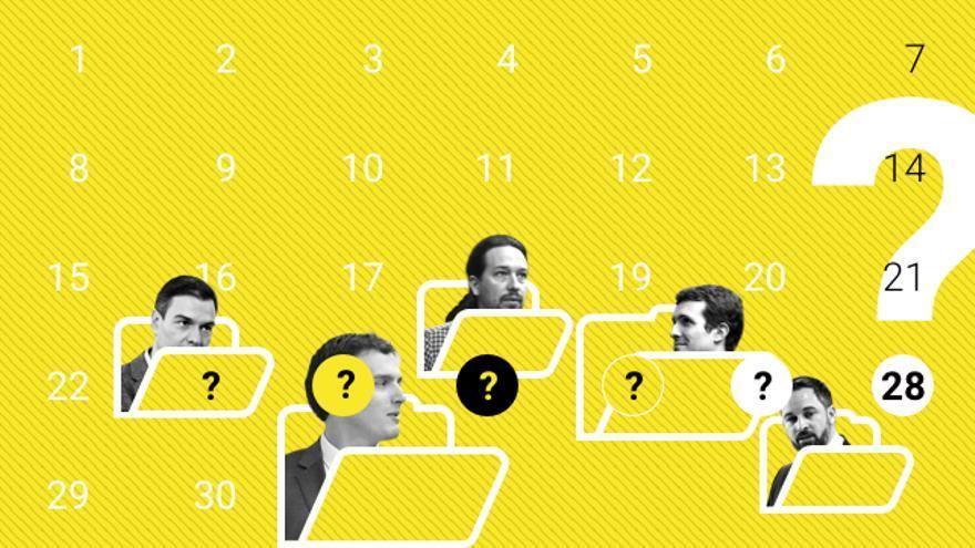 La ley prohíbe la publicación de encuestas cinco días antes de la jornada de votación