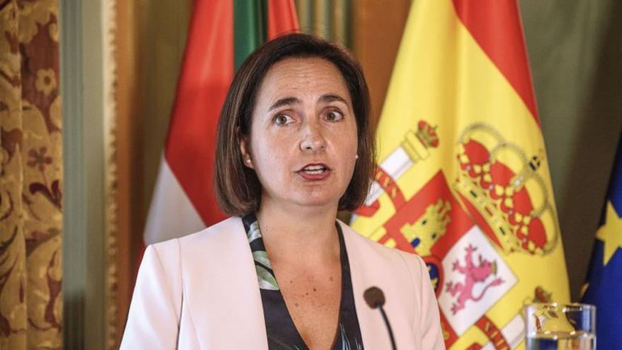 La subdelegada del Gobierno en Bizkaia (en funciones), Covadonga Aldamiz-Echevarría.