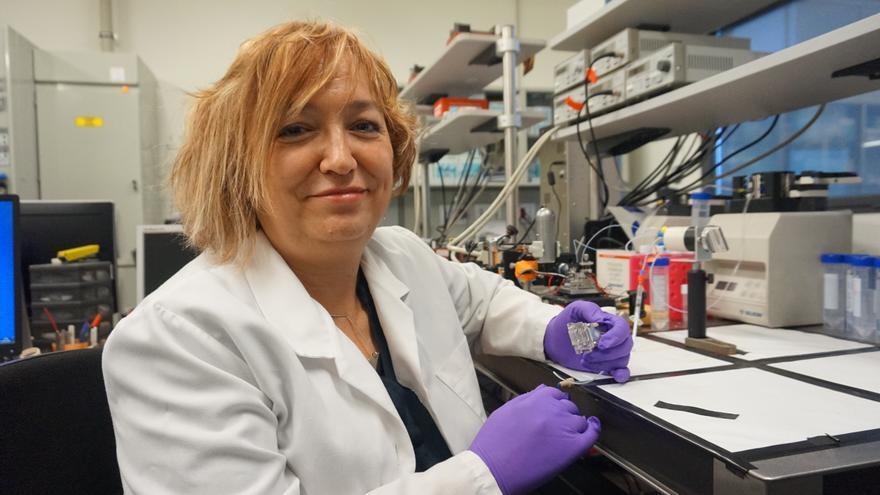 Profesora Laura Lechuga /Foto: ICN2