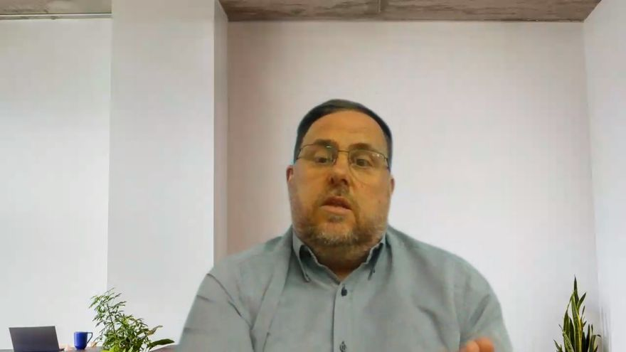 Junqueras appeals to the values of classic works to face the pandemic