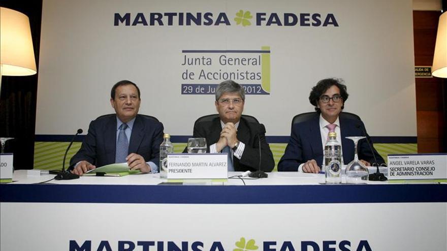 Martinsa Fadesa reduce un 37,4 % sus pérdidas hasta 201,7 millones de euros
