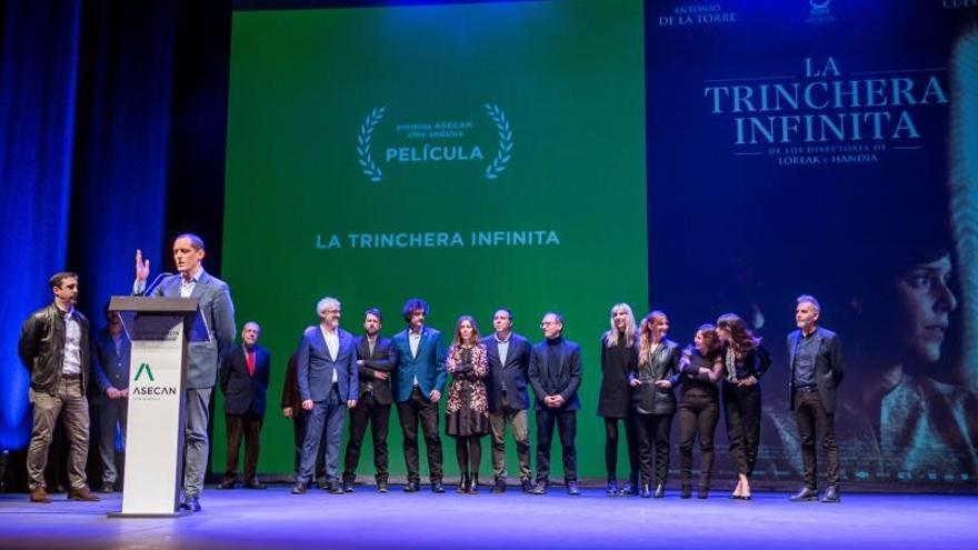 """""""La trinchera infinita"""" triunfa en los Premios del Cine Andaluz"""