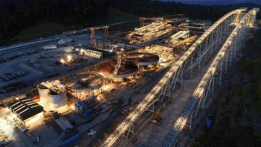 Arranca en Panamá la exportación de la mina de cobre más grande de Centroamérica