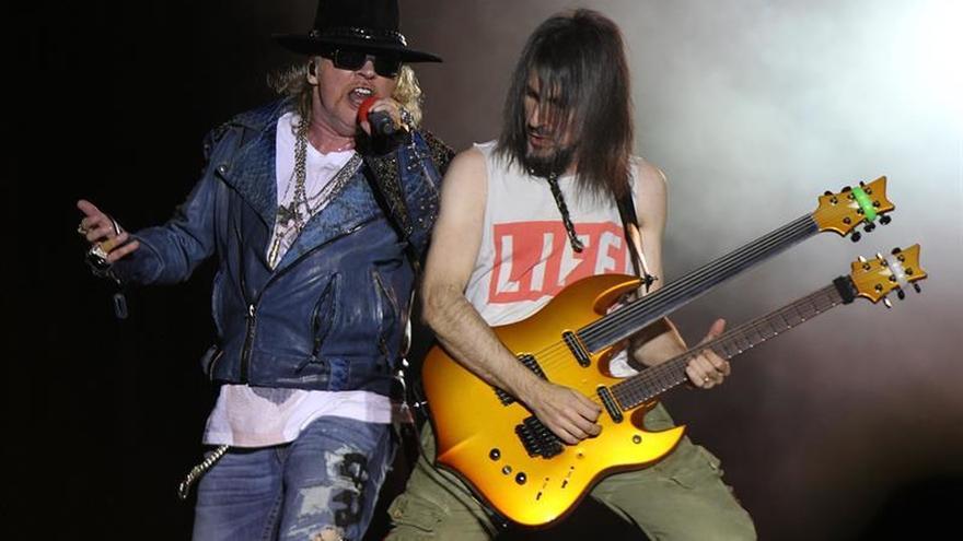 Guns N'Roses ofrecerá dos conciertos en España en 2017