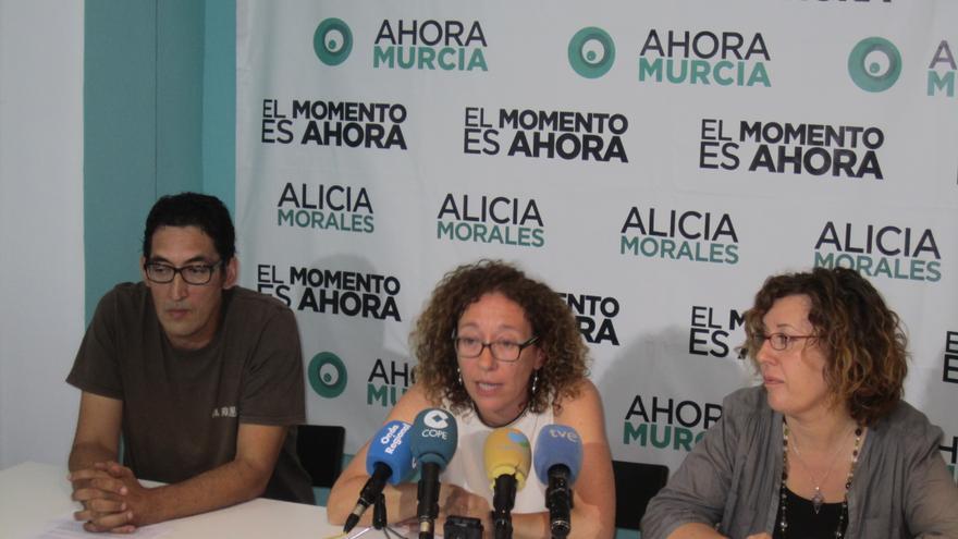 La candidatura de Es Ahora Murcia explica su postura de cara a posibles acuerdos en el ayuntamiento