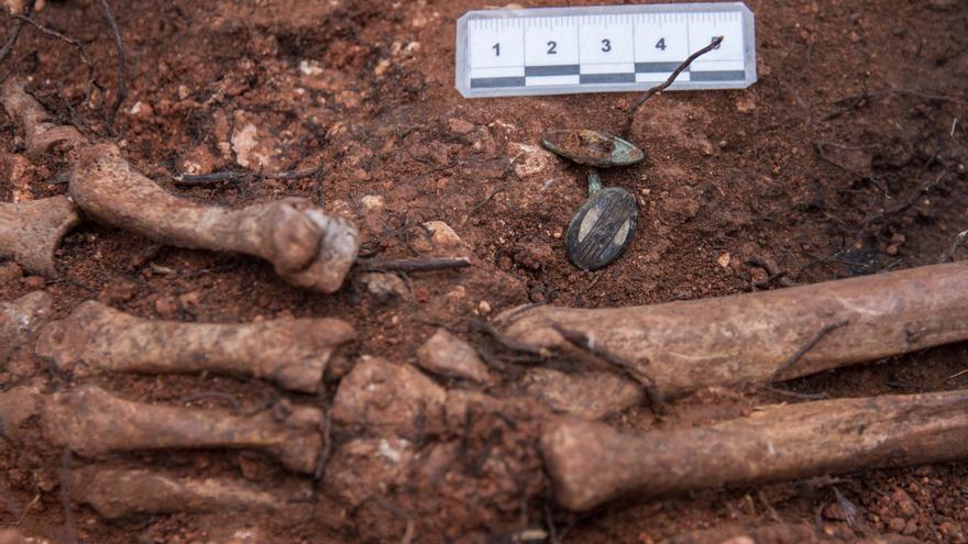 Detalle de la intervención arqueológica.   ASRD