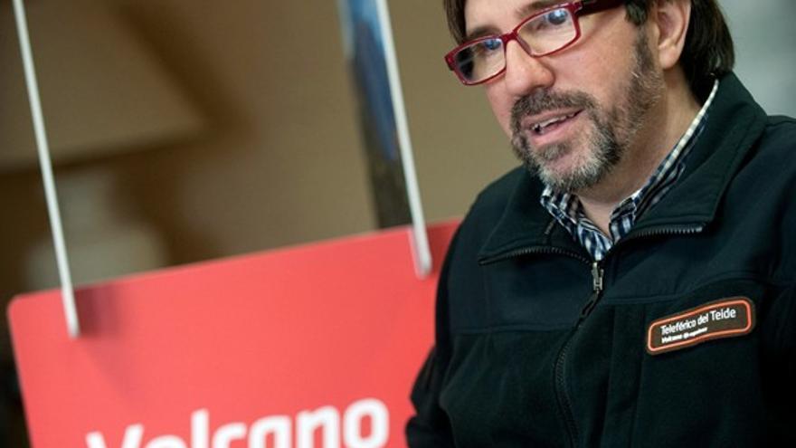 Ignacio Sabaté, director gerente de Teleférico del Teide y portavoz para este conflicto laboral