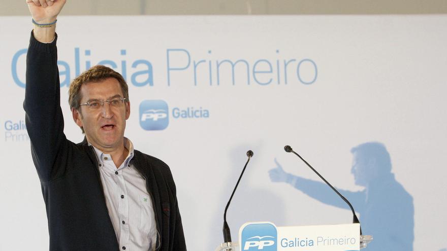 El presidente de la Xunta y candidato a la reelección, Alberto Núñez Feijóo. EFE