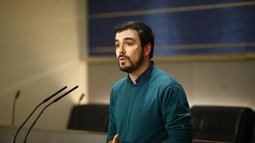 """Garzón no descarta una nueva consulta a las bases de IU sobre el pacto con Podemos, aunque """"a lo mejor no es necesario"""""""