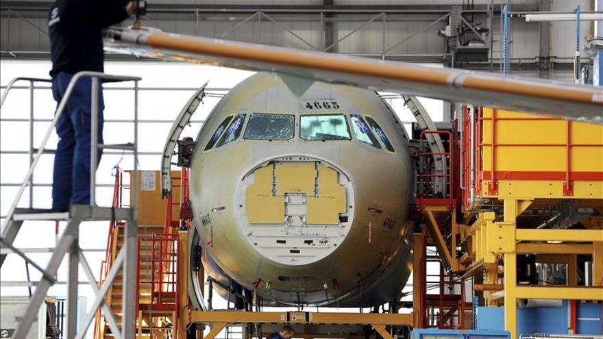 Airbus aumentó un 59 por ciento su beneficio en 2014, hasta 2.343 millones de euros